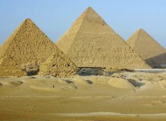 Egizi, Trasporti, Piramidi