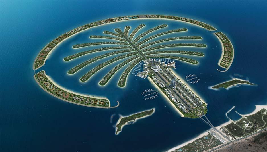 Palm Jumeirah plant