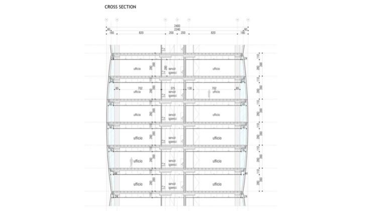 Torre Allianz sezione 2