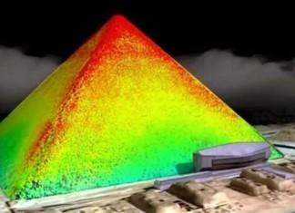 termografia della piramide di Cheope, credits: image.3bmeteo.com/