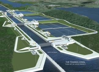 Canal de Panama Expanding, Close-Up Engineering