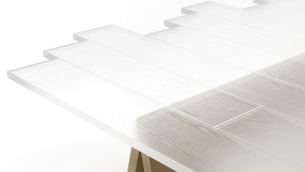 Il legno trasparente