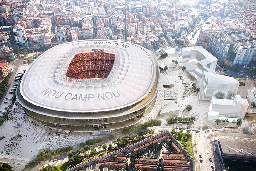 Il nuovo Camp Nou del Barcellona