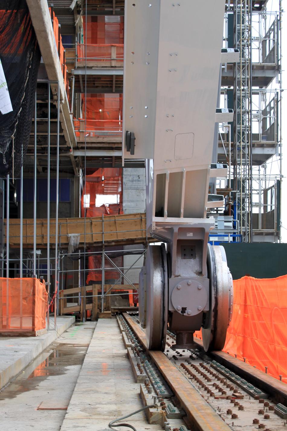 The Shed, la costruzione che si muove sui binari
