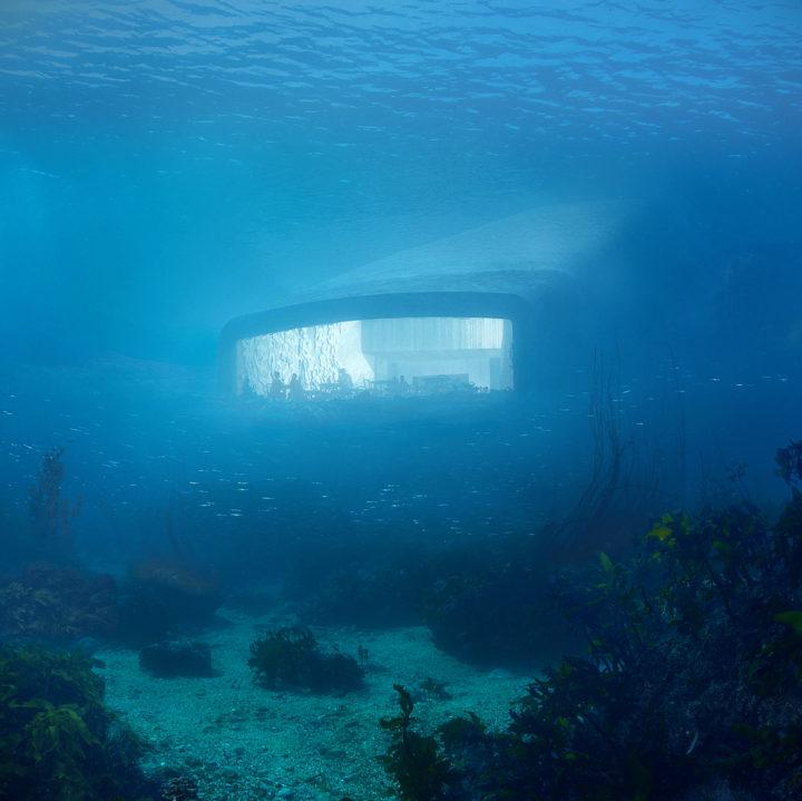 Under, il primo ristorante sott'acqua europeo