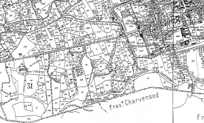 esempio di mappa catastale