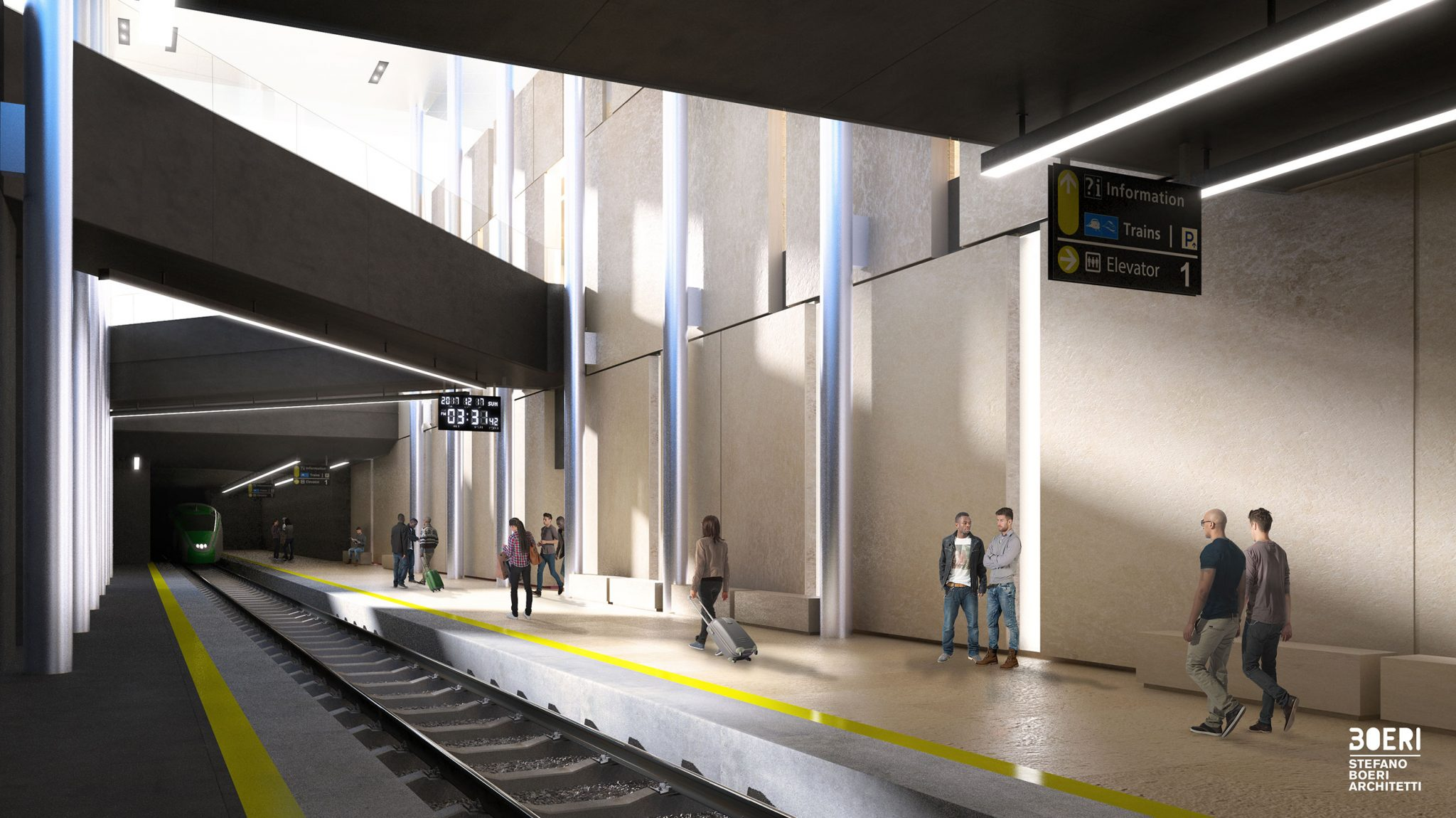 La nuova stazione di Matera firmata Stefano Boeri