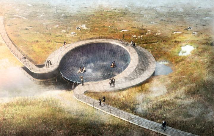 Storkeengen, un parco artificiale per il rischio idrologico
