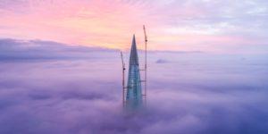 Lakhta Center, il grattacielo più alto d'Europa sorge a San Pietroburgo