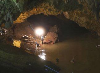Thai, cave, stock