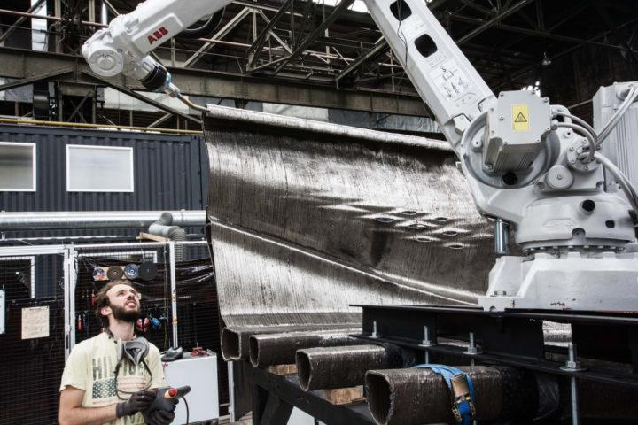 Il primo ponte in acciaio stampato in 3D