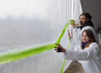 Una tenda bio-digitale per combattere i cambiamenti climatici