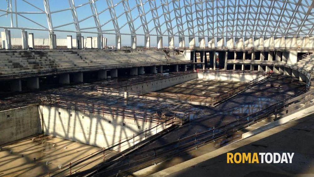 Vele di Calatrava, polo sportivo Tor Vergata