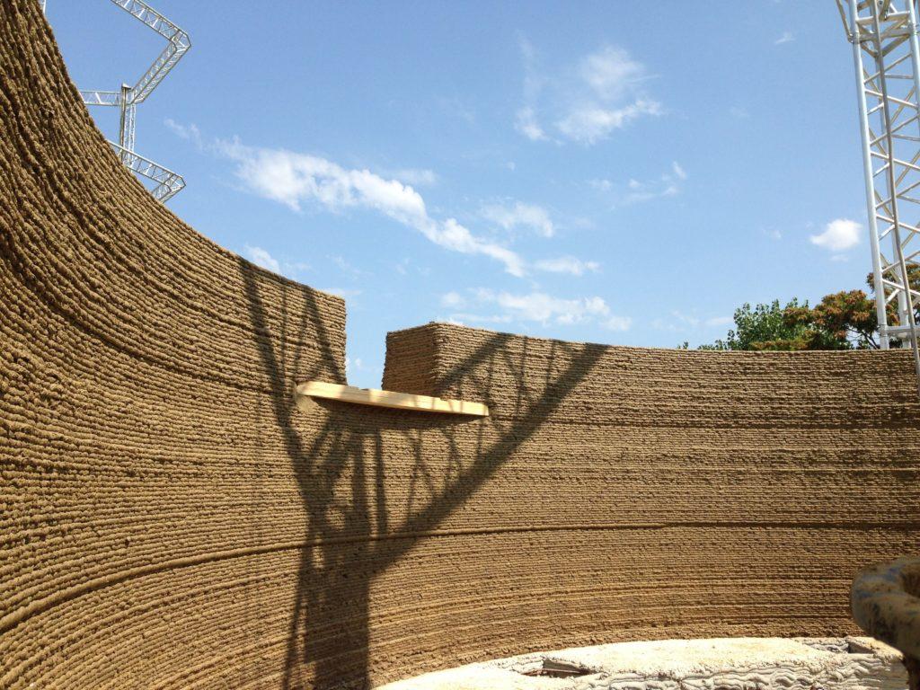 Gaia, la prima casa 3D realizzata con terra cruda