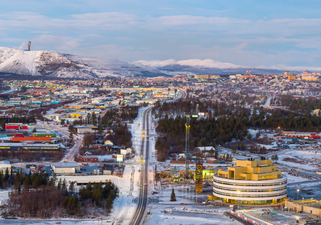 In Svezia stanno spostando un'intera città qualche chilometro più a est