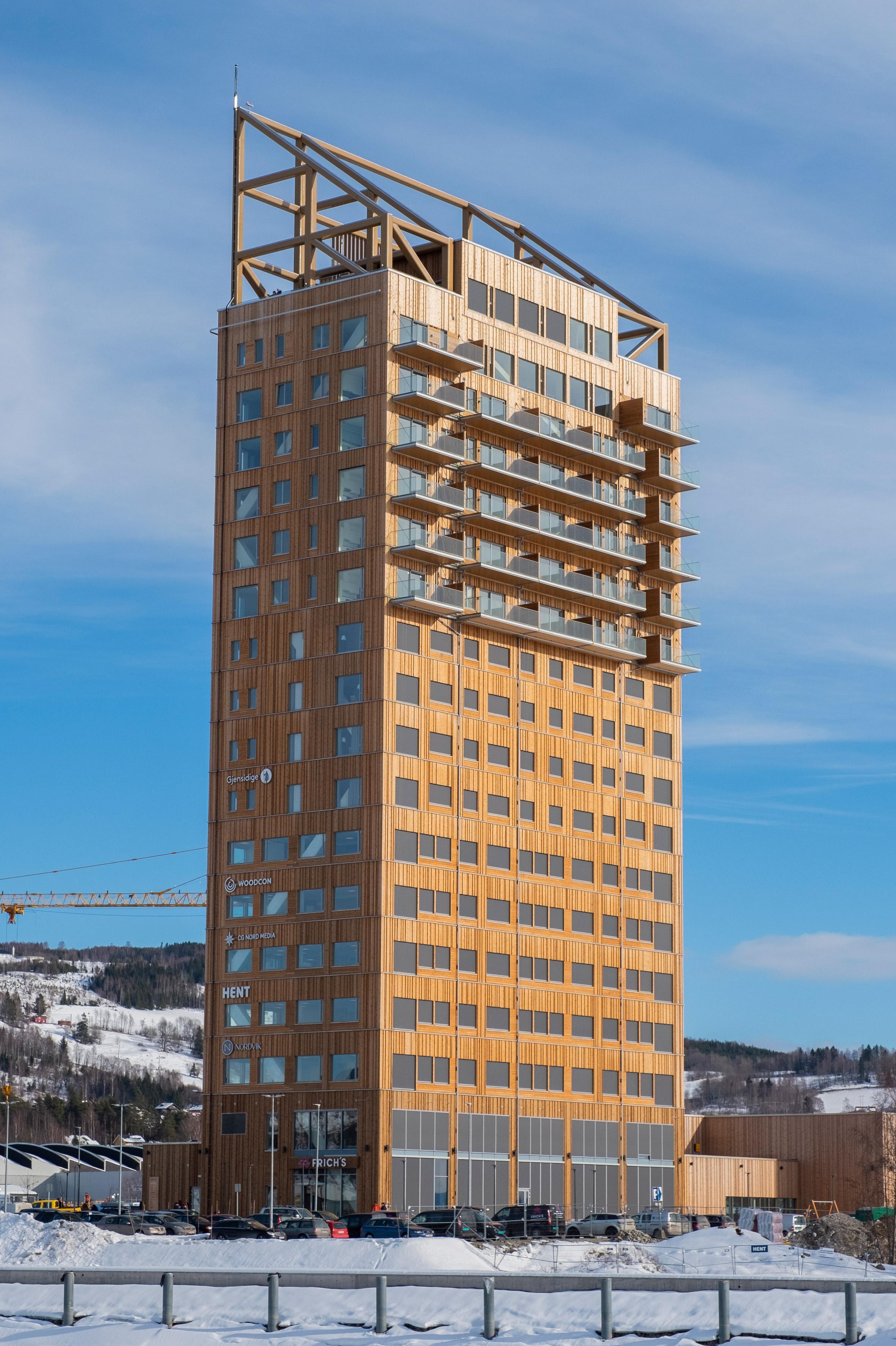 Mjøstårnet, il grattacielo in legno più alto del mondo