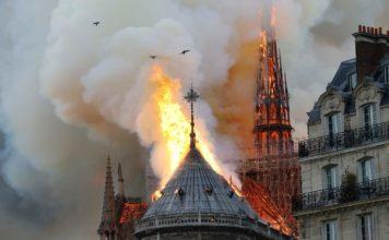 L'incendio di Notre-Dame, colpito un simbolo occidentale