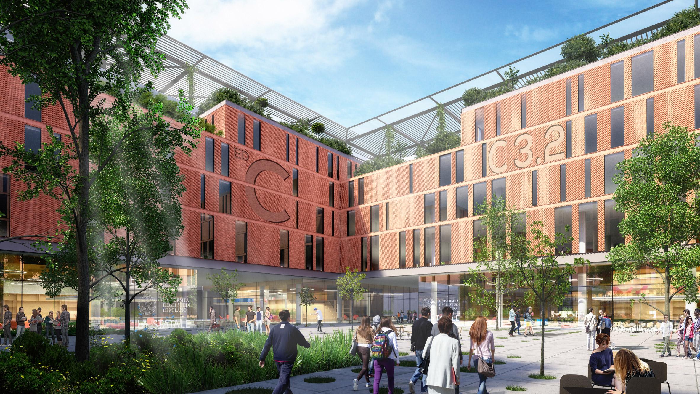 Il nuovo campus scientifico dell'Università di Milano