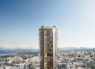 A Vancouver una torre ibrida legno-calcestruzzo