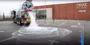 L'asfalto super assorbente che salva dal rischio inondazioni