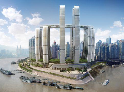 In Cina il grattacielo orizzontale più alto al mondo