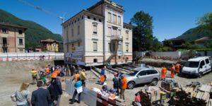 Villa Carmine, come spostare un edificio interamente