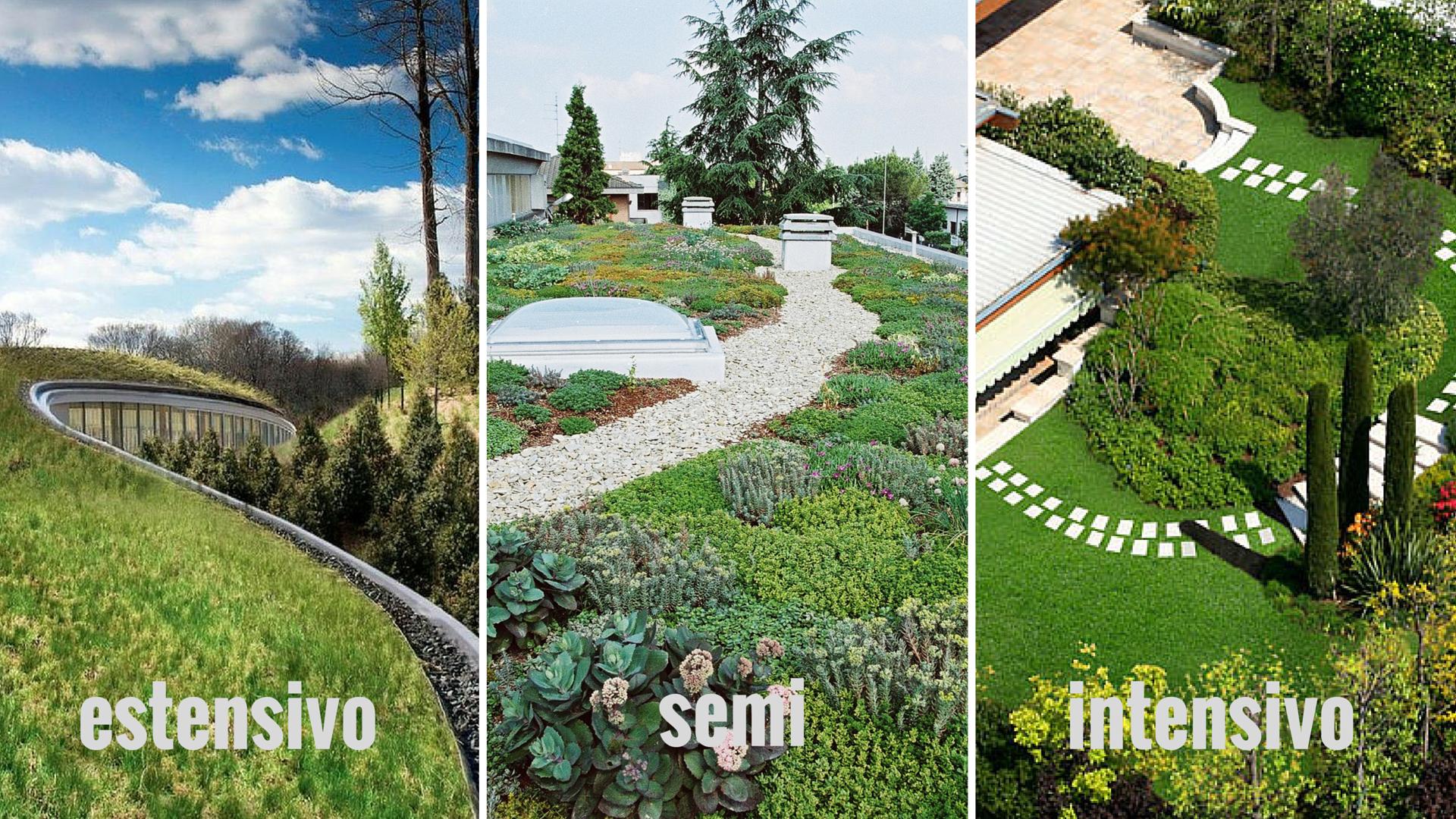 Il tetto giardino: tipologie, funzioni e vantaggi