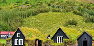 Le Turf House islandesi candidate a patrimonio UNESCO