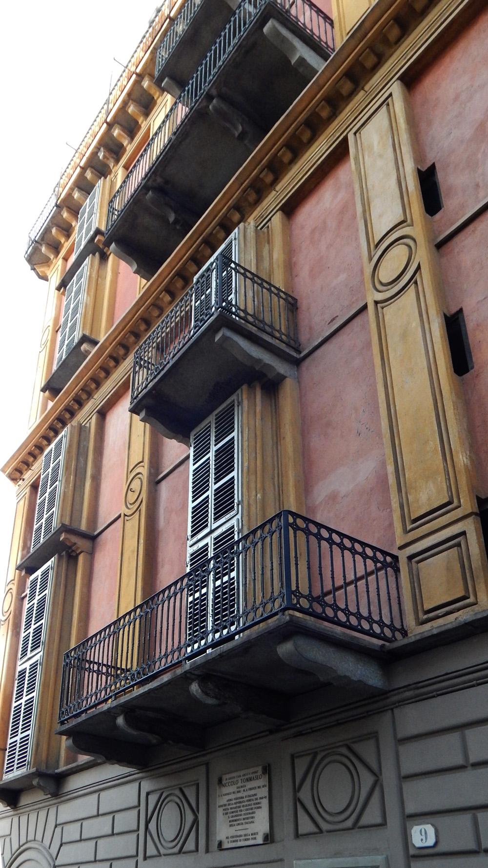 Vivere in una fetta di Polenta, casa Scaccabarozzi