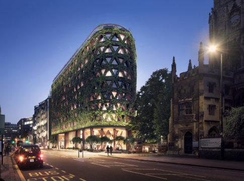 A Londra il muro verde più grande d'Europa