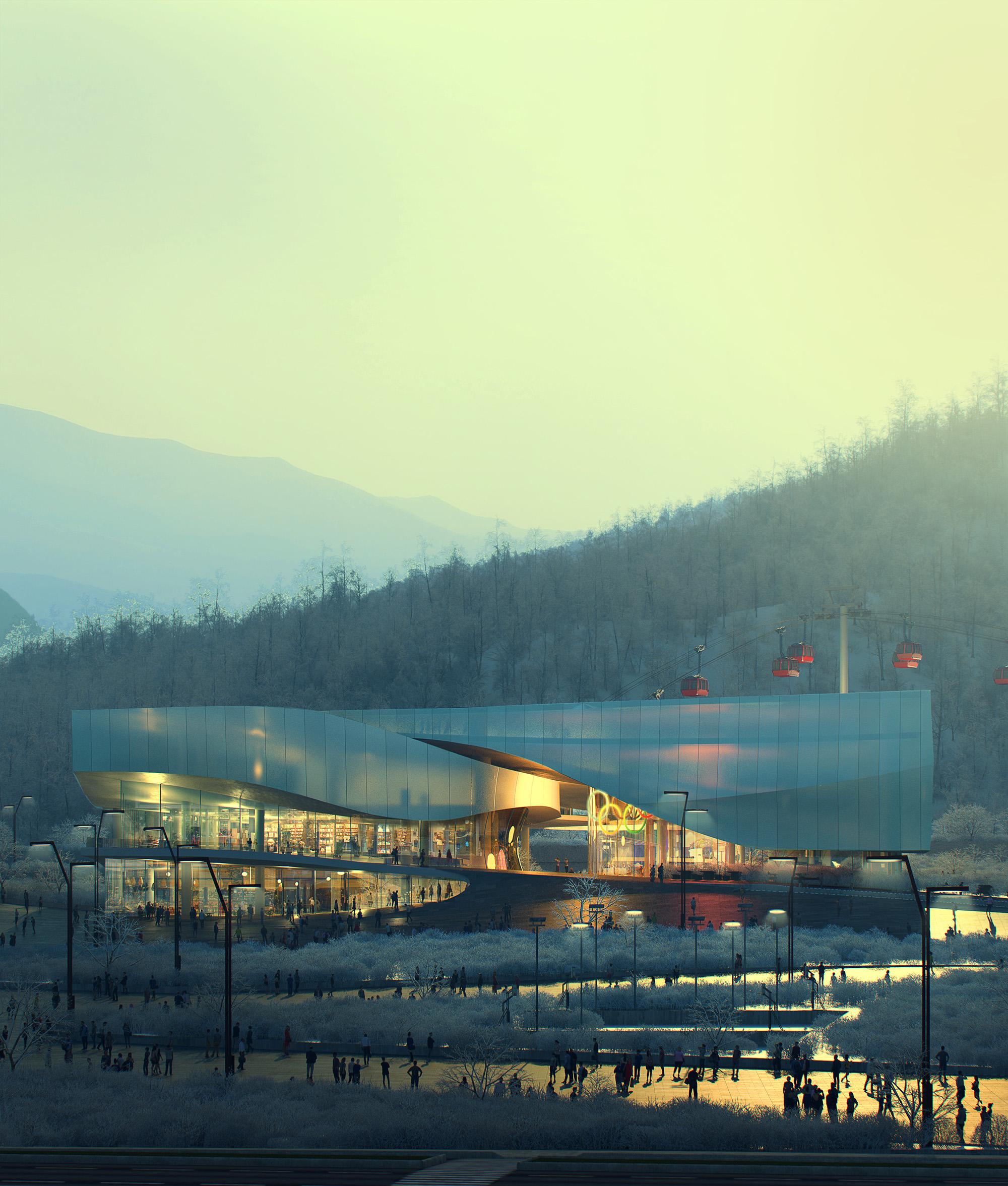 Il museo tra le montagne. PH: maisonh.nl