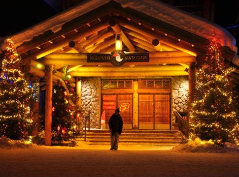 La casa di Babbo Natale? È costruita in blockbau