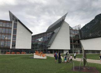 Il MUSE di Renzo Piano, il museo dal tetto che ricorda le Dolomiti