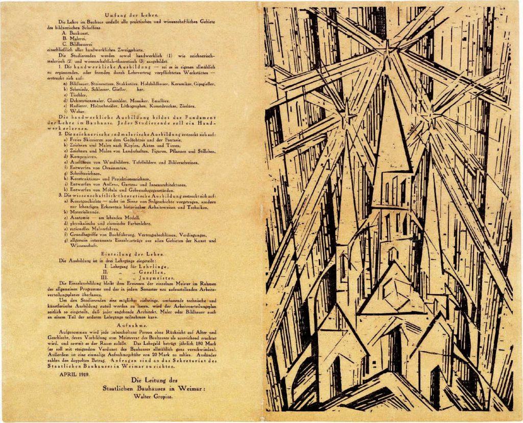Centenario del Bauhaus, tempio del razionalismo