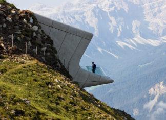 Museo Corones, la firma di Zaha Hadid tra le cime del Sudtirolo