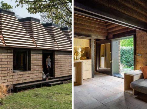Cork House, la casa in sughero ecosostenibile