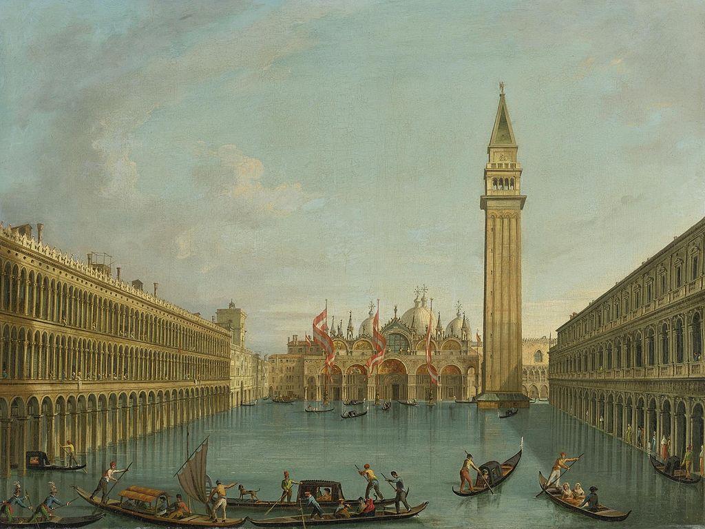 Venezia, teca in vetro per proteggere San Marco dall'acqua alta