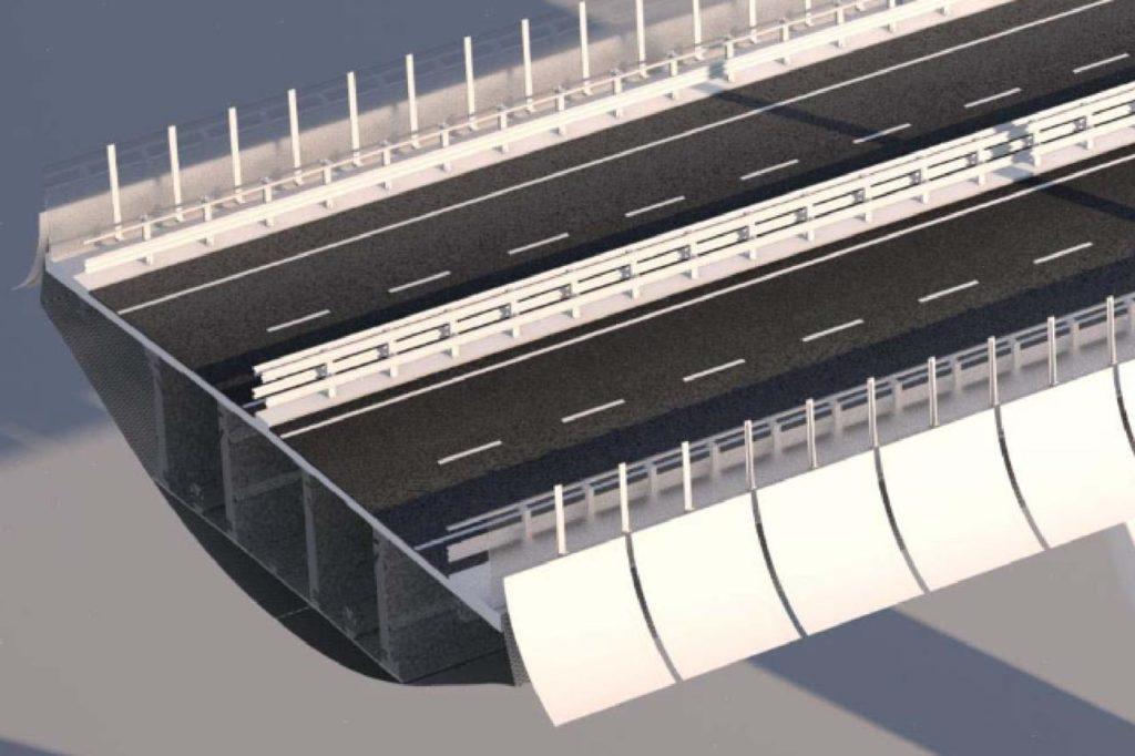 Modello Ponte Morandi