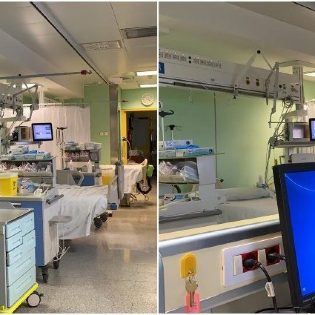 Operativo a Roma un nuovo ospedale contro il Coronavirus