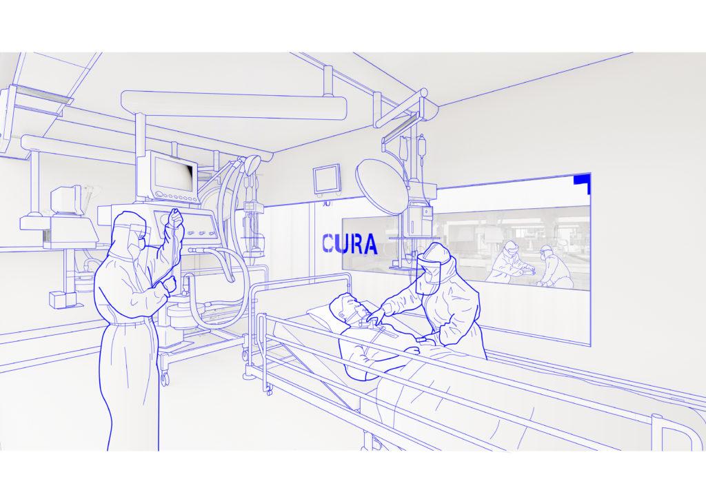 Progetto CURA: container per l'emergenza sanitaria