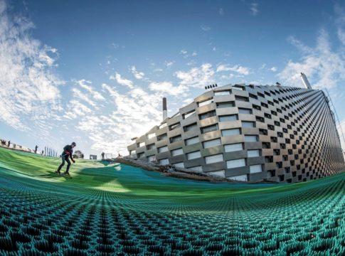 A Copenaghen si scia sul termovalorizzatore