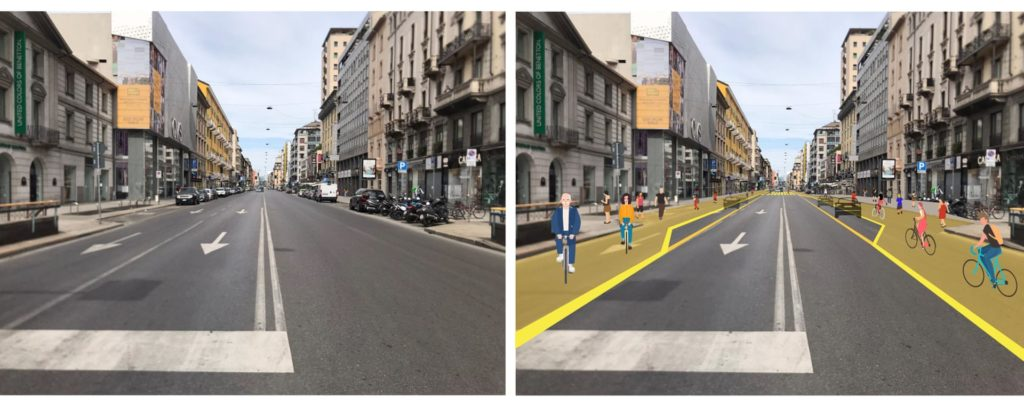 Il piano di Milano per la ripartenza