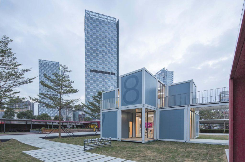 Cina architettura modulare