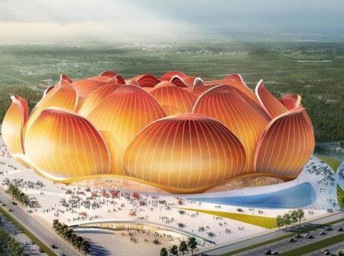 Il nuovo stadio di Guangzhou - Ph. gianlucadimarzio.com
