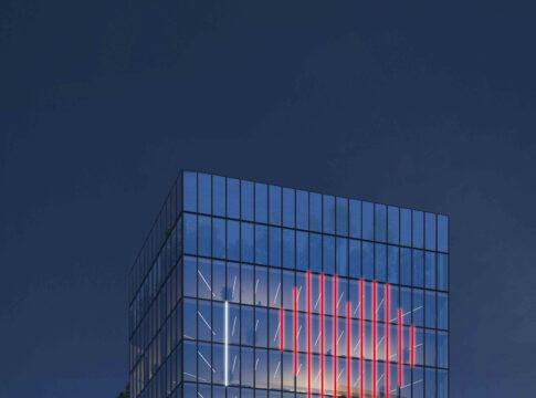 La facciata interattiva del Palazzo di Fuoco
