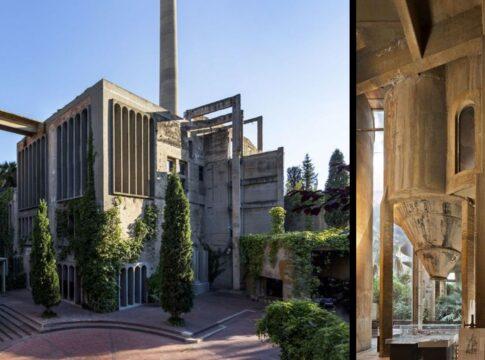 Ex cementificio come villa in Spagna, ispirazione per un riuso urbano illuminato