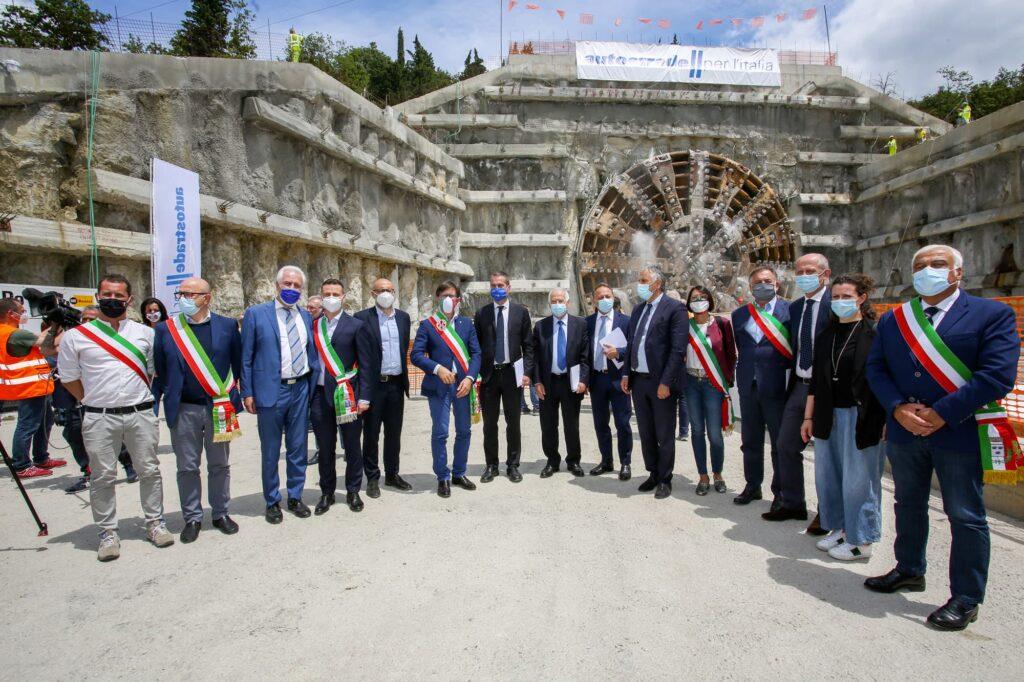 In Toscana terminato uno dei tunnel più grandi al mondo. Ph. autostrade.it