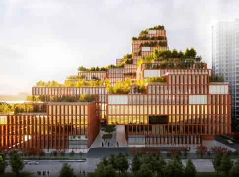 Il Centro di riabilitazione in Cina di Stefano Boeri. Ph. designboom.com