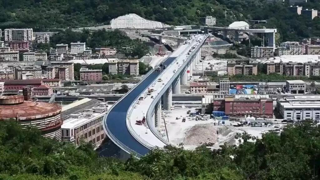 Domenica al via il collaudo del nuovo ponte sul Polcevera