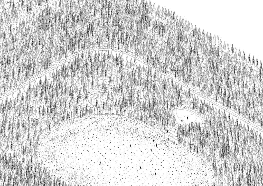 San Siro pieno di alberi come monumento per le vittime del CoVid-19
